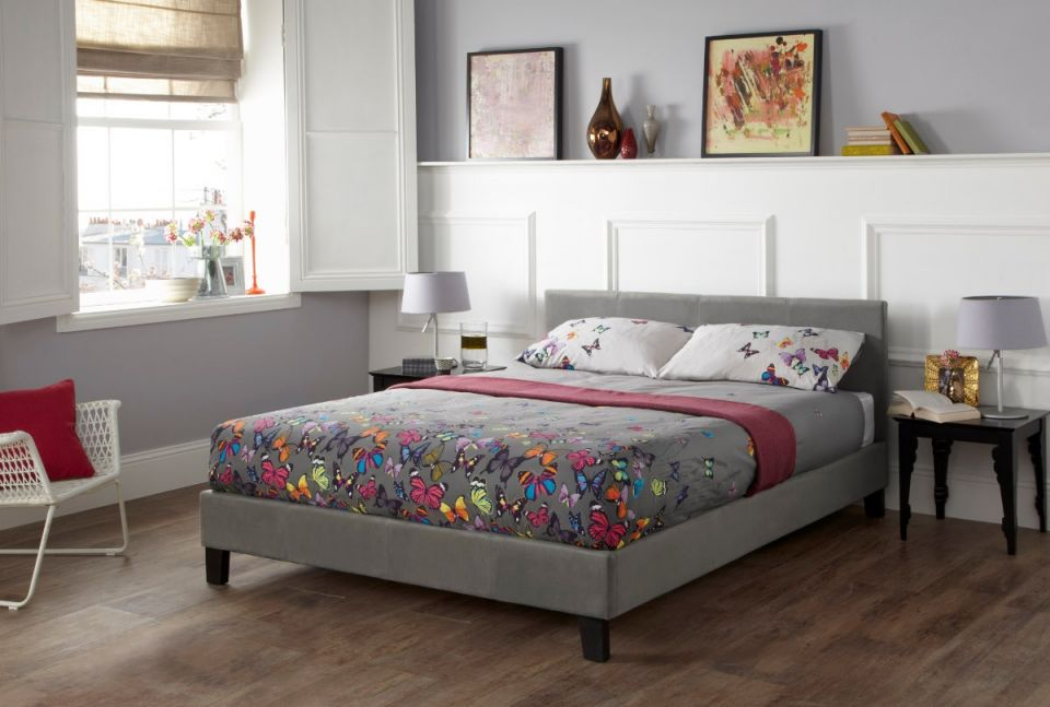 Evelyn Upholstered Bed Frame