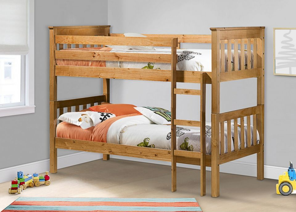 Portland Pine Bunk Bed