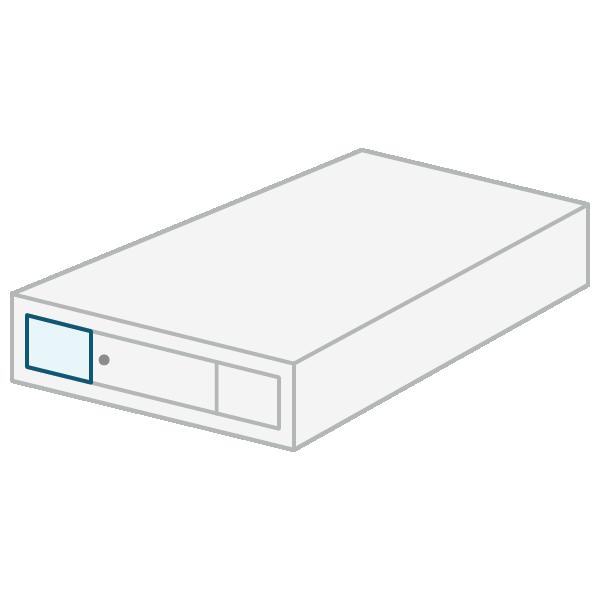 Slide storage bed