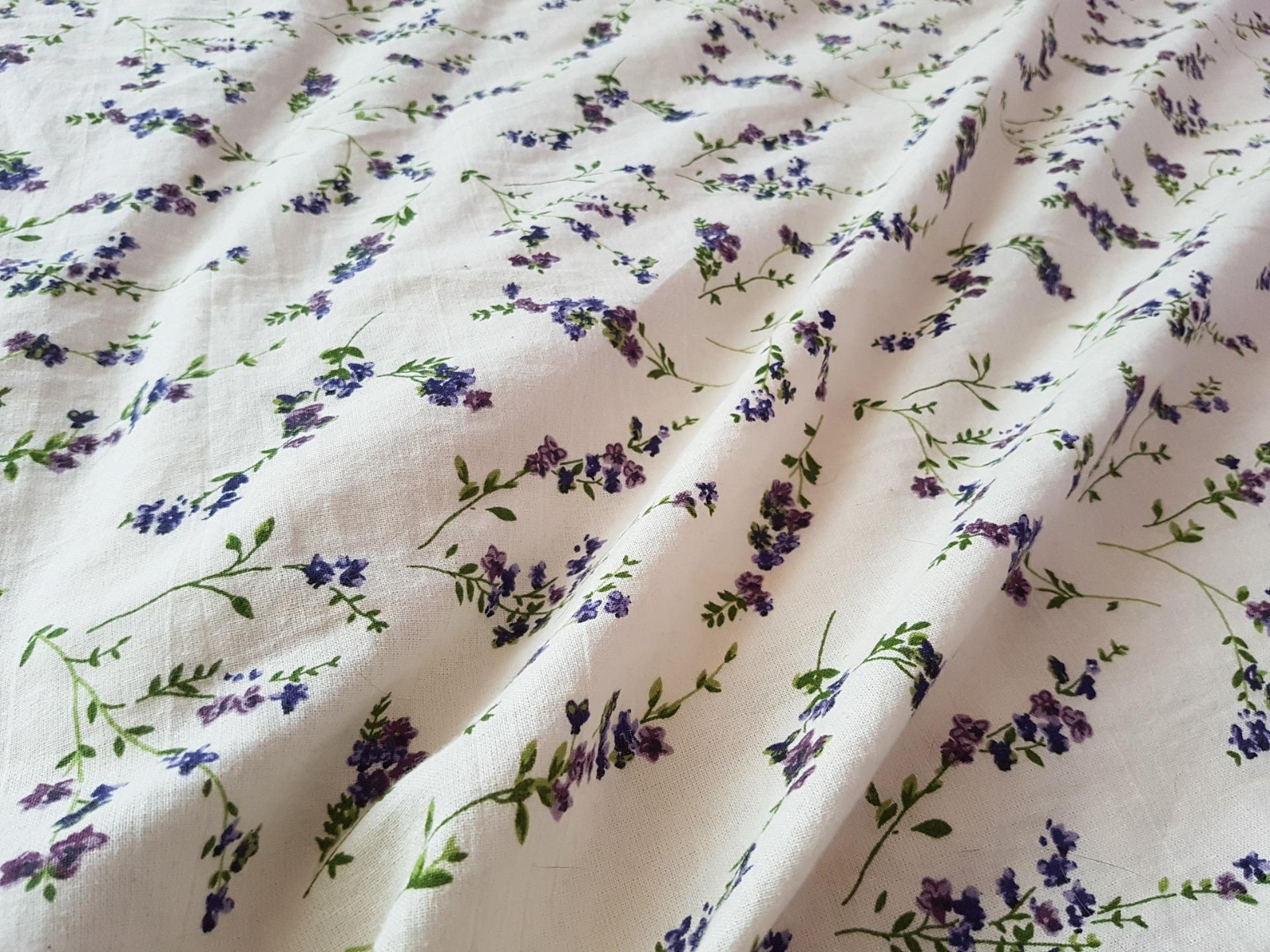 Flowery duvet