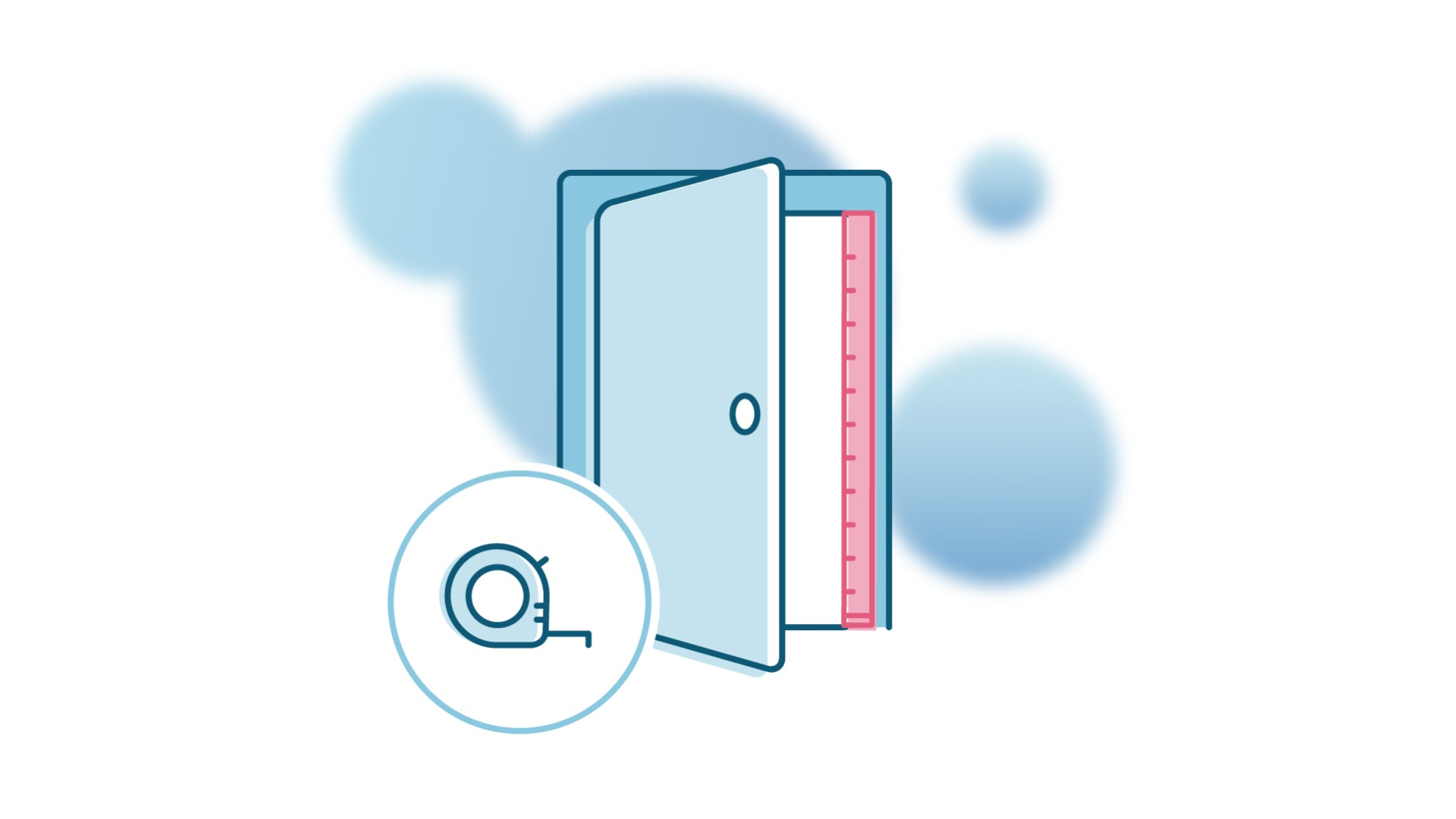 measuring your doorways, hallways and staircases
