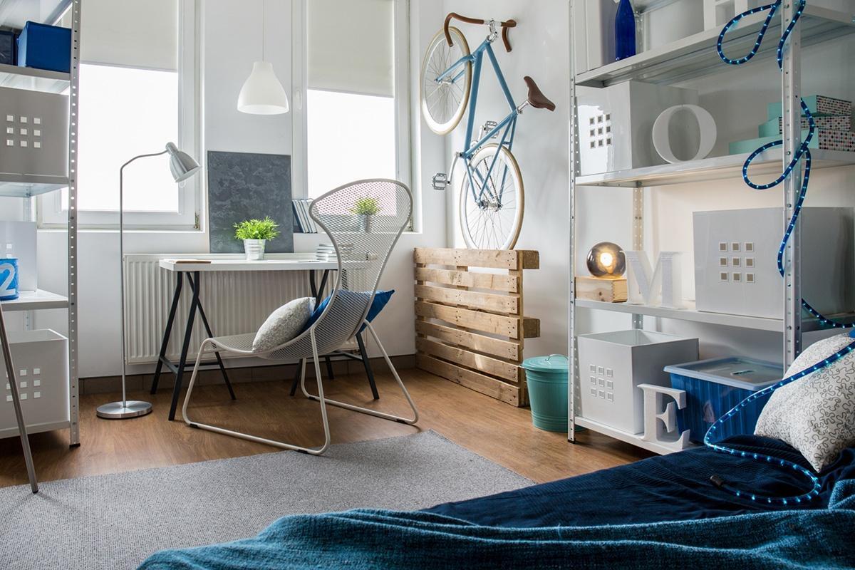 Modern look bedroom