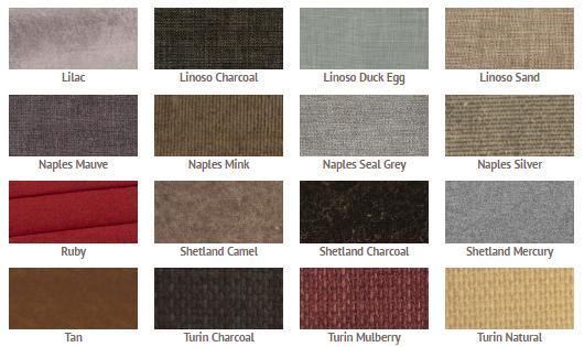 Bed colours range