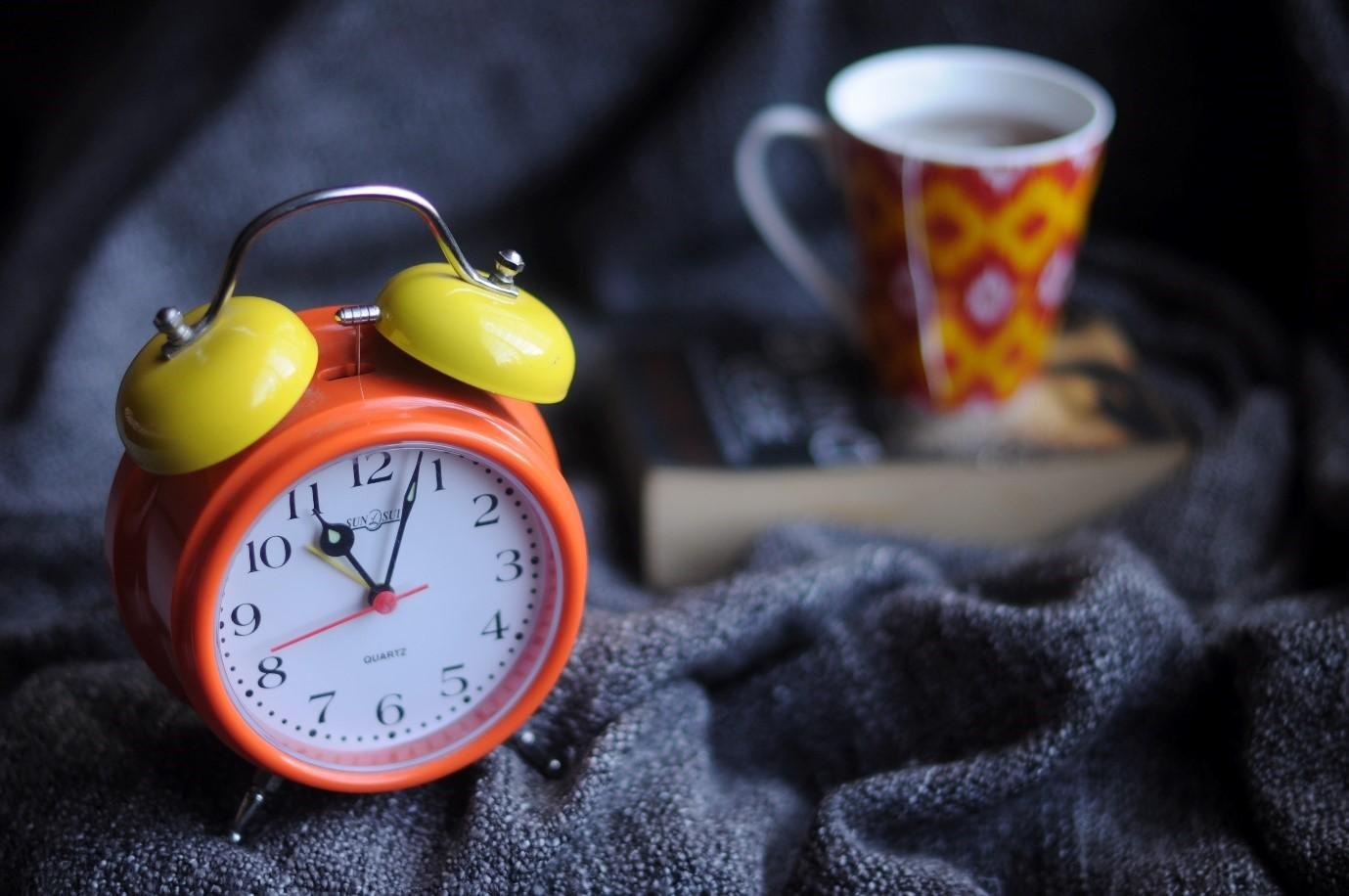 Traditional alarm clock