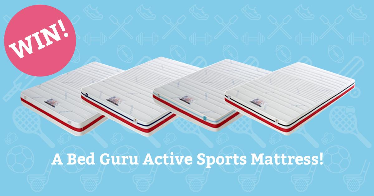 Win a sports mattress