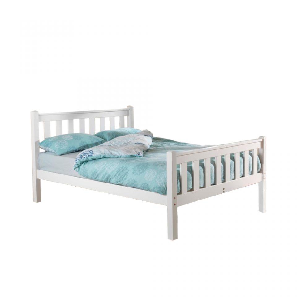 Shaker High Foot Pine Bed Frame